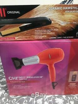 Chi Original 1 Ceramic Flat iron Hair Styling Straightener & Hair Dryer