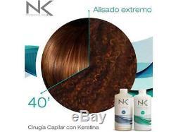 Cirugía Capilar Con Keratina Nk Professional Care Paso 1y2 450ml