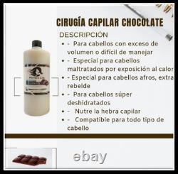 Cirugia Capilar Perfect Liss Chocolate Kit 2 Pasos