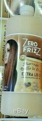 Cirugia Capilar Zero Frizz Brillo De Oro 1 Paso
