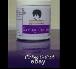 Cocoblack-Curling Custard, Coconut Leave In, Hair Growth, Lanolin Oil&Styling Gel
