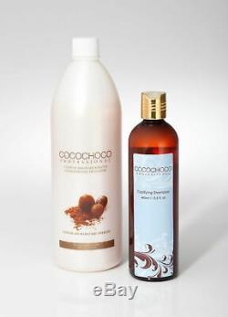 Cocochoco Brazilian Keratin Treatment Blow Dry Hair Straightening 1000ml /33oz