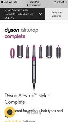 Complete Dyson Airwrap For Multiple Hair Types Sold Out