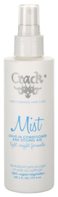Crack Anti-frizz Improved-shine Styling Mist Spray 6 Oz