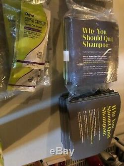 DEVA CURL Hair Care & Styling 283 samples & 16 Full Size Products Brand New