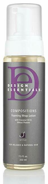 Design Essentials Compositions Non-flaking Foaming Wrap Lotion 7.5 Oz