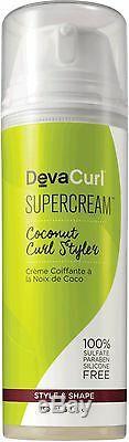 DevaCurl Supercream Coconut Curl Styler Cream 5.1 oz (Pack of 6)