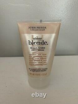 Discontinued John Frieda Sheer Blonde Dream Creme Instant Silkener Barely Used