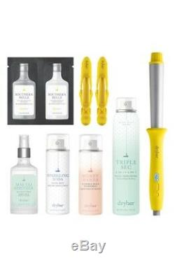 Drybar The Most Wonderful Waves Kit Set Wrap Party Curling Styling Wand Clips
