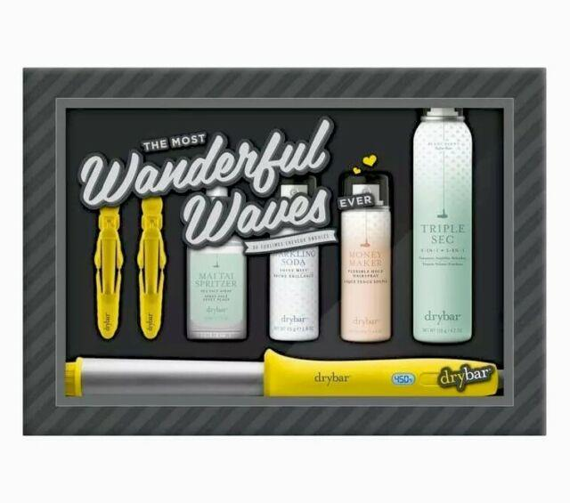 Drybar The Most Wonderful Waves Kit Wrap Party Curling Styling Wand Iron