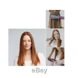 Dyson Airwrap Smooth + Control Styler For Frizz-Prone Hair Fuchsia Nickel