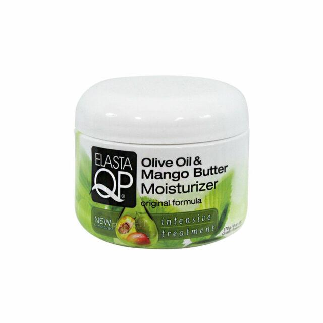Elasta Qp Olive Oil & Mango Butter Moisturizer Original Formula Treatment 6 Oz