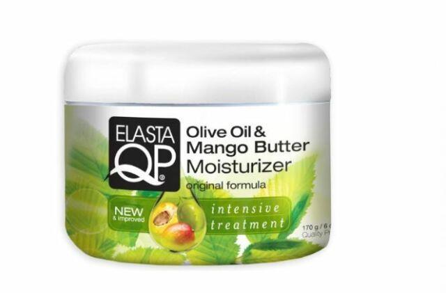 Elasta Qp Olive Oil And Mango Butter Moisturizer For Unisex, 6 Ounce