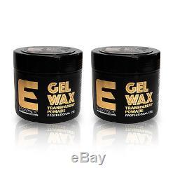 Elegance Transparent Pomade Gel Wax 8.4OZ/250ML Factory Sealed TWIN PACK (2PCS)