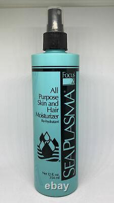 Focus 21 Sea Plasma All Purpose Skin Hair Moisturizer Spray 12 oz Bottle RARE