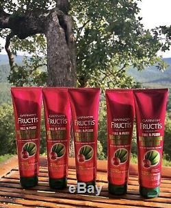 Garnier Fructis Full & Plush Voluptuous Blow Out Bodifying Treatment Lot Of 5