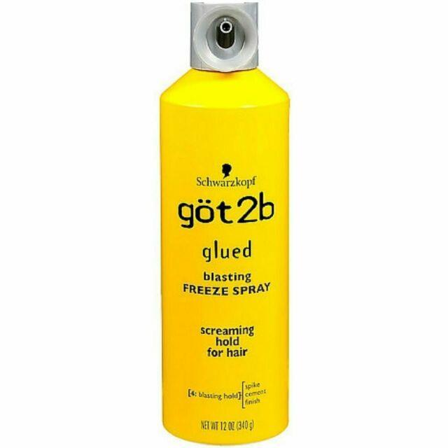 Got2b Glued Blasting Freeze Spray, 12 Ounce Free Shipping & Free Returns & New