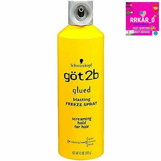 Got2b Glued Blasting Freeze Spray Hairspray Hold Cosplay Lace Wigs Beauty Supply
