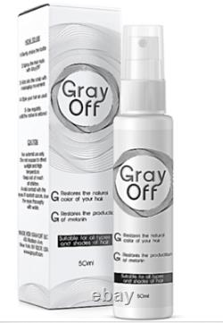 Gray OFF Hair Spray Restore Black Hair Authentic 100% Made in USA EXPRESS SHIP
