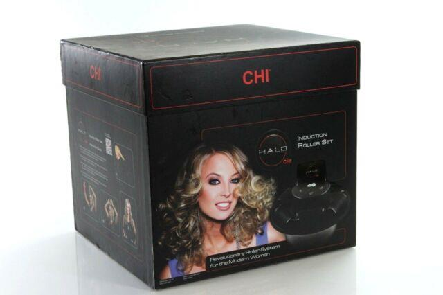 Halo By Chi Induction Roller Set With Ceramic Infused Rollers A6-4