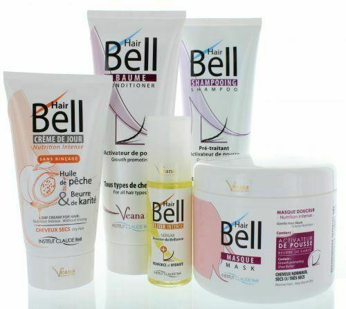 Hairbell Shampoo + Conditioner + Maske + Haircream + Serum Wie Hairjazz Hairplus