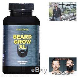 Hair Growther Facial Mustache Growth Fast Grow Rich Texture Natural Fuller Beard