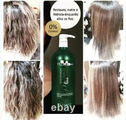 Hair Treatment Keratin Ultimate Liss Hanna Lee Keratina Sorali Brasil 1L