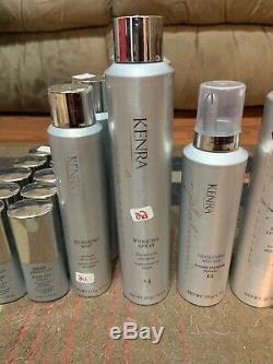 Huge Lot Of Kenra Platinum Hair Care 27 Items Total