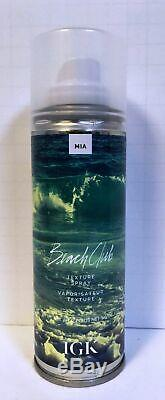 IGK Beach Club Texture Spray Brand New 5.0 Fl oz