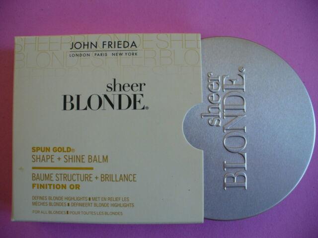 John Frieda Sheer Blonde Spun Gold Balm Hair Wax