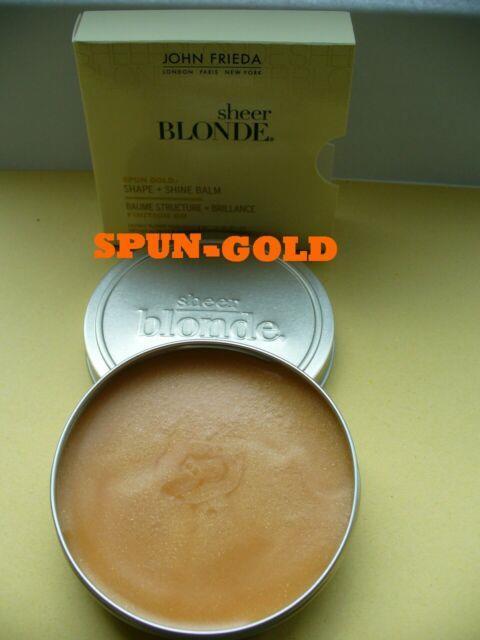 John Frieda Sheer Blonde Spun Gold Balm Hair Wax Bnib