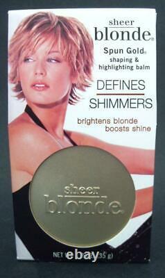 John Frieda Sheer Blonde SPUN GOLD Shaping & Highlighting Balm Shine Tin NEW