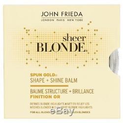 John Frieda Sheer Blonde SPUN GOLD Shaping Highlighting Balm VERY RARE BNIB