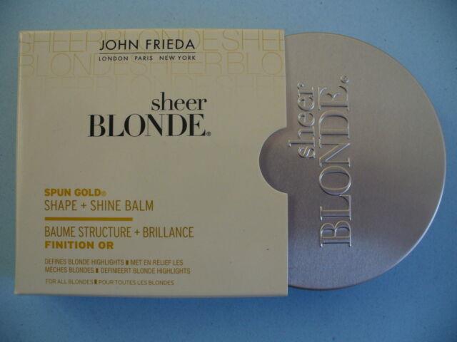 John Frieda Sheer Blonde Spun Gold Shaping Highlighting Balm Wax Bnib Rare
