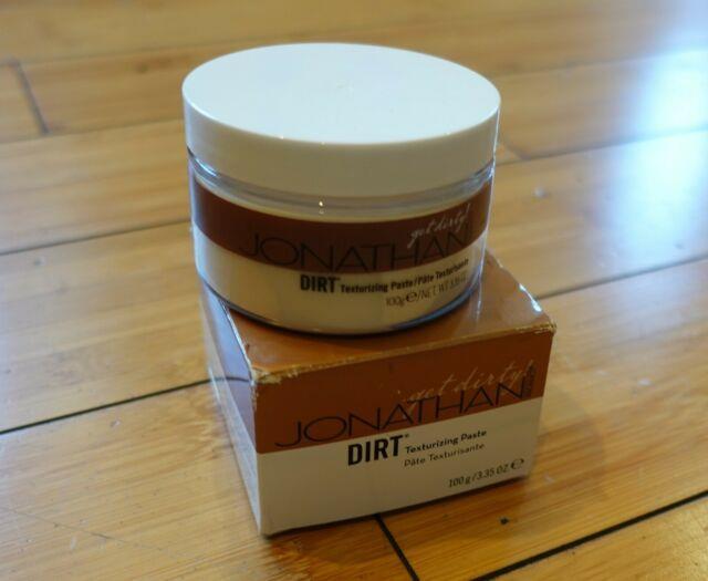 Jonathan Product Dirt 3.35 Oz Texturizing Pomade Paste New! Super Rare