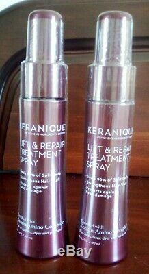 KERANIQUE Hair Rejuvenation System Kit 7 Piece Brand new Boxed
