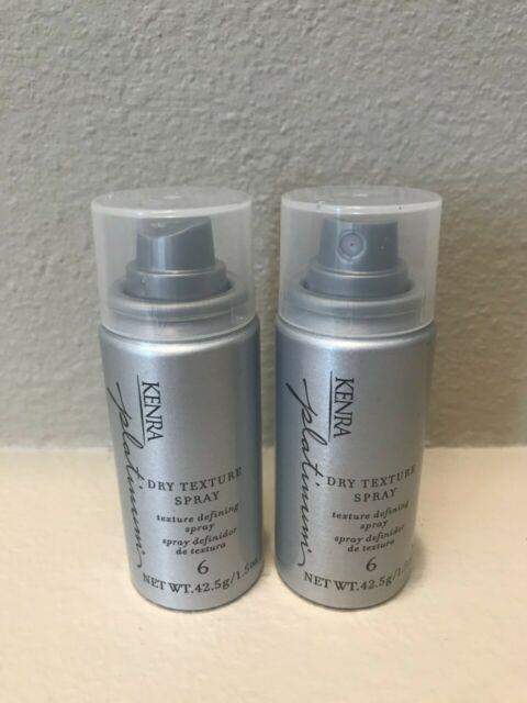 Kenra Platinum Dry Texture Spray #6 1.5 Oz / 42.5g (pack Of 2)