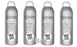 Kenra Shaping Spray #21 Extra Firm Hold Hairspray 1.5oz (4 PACK) Alcohol-Free