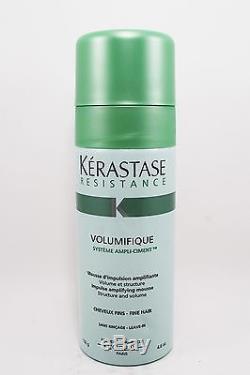 Kerastase Resistance Volumifique Impulse Amplifying Mousse Fine Hair 4.6 Oz