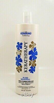 Keratherapy Pure Renewal Keratin Smoothing Treatment Zero Formaldehyde 16 Fl Oz