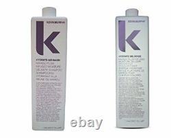 Kevin Murphy Hydrate Me Shampoo Rinse DUO set liter / 33.8oz NEW