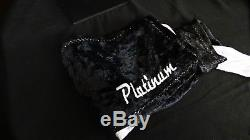 King Scorpion 360 Platinum Large 38 Velvet Du-Rag Grey/Black Platinum Collect