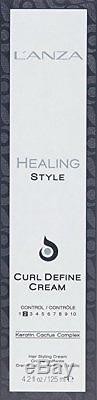 LANZA Healing Style Curl Define Cream 4.2 oz