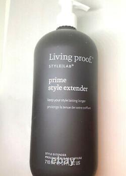 LIVING PROOF STYLE LAB PRIME STYLE EXTENDER 24oz PLUS SHAMPOO, CONDITIONER 7PCS