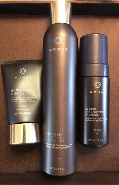 Lot Monat Hair Products Full Size Styling Starter Kit Hair Loss Growth