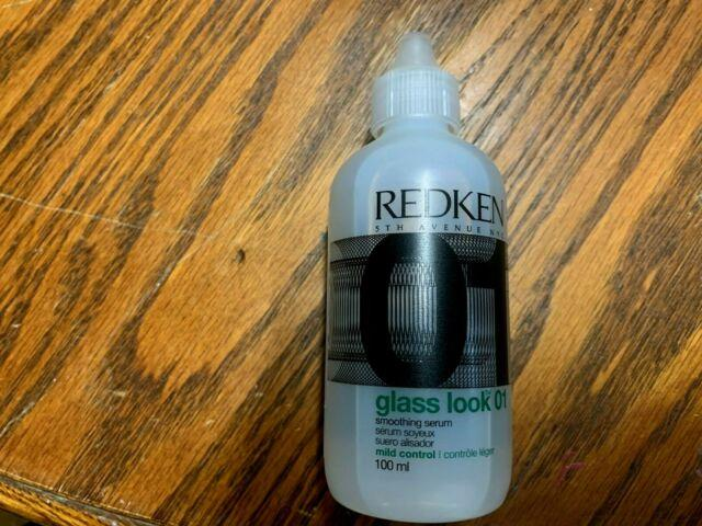 Last One! Redken Glass Look 01 Smoothing Serum 4 Oz - As Seen In Picture