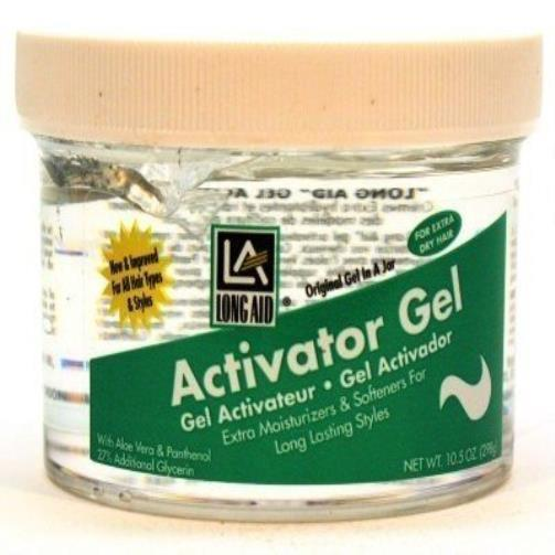 Long Aid Curl Activator Gel With Aloe Vera Extra-dry 10.5 New