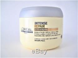 Loreal INTENSE REPAIR Cuti Liss System Intense NUTRITION MASQUE Dry Hair 6.7 oz