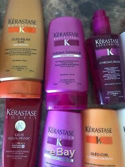 Lot 13 Kerastase Oligo Hair Care Products Styling Finishing Blowdrying Curls