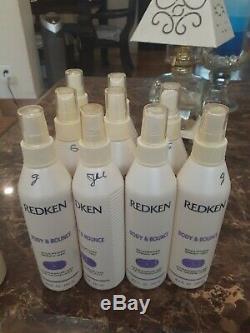 Lot Of (18) Redken Contour Shaping Lotion 8, Body Bounce, Aurset, Hit Sets, Direct
